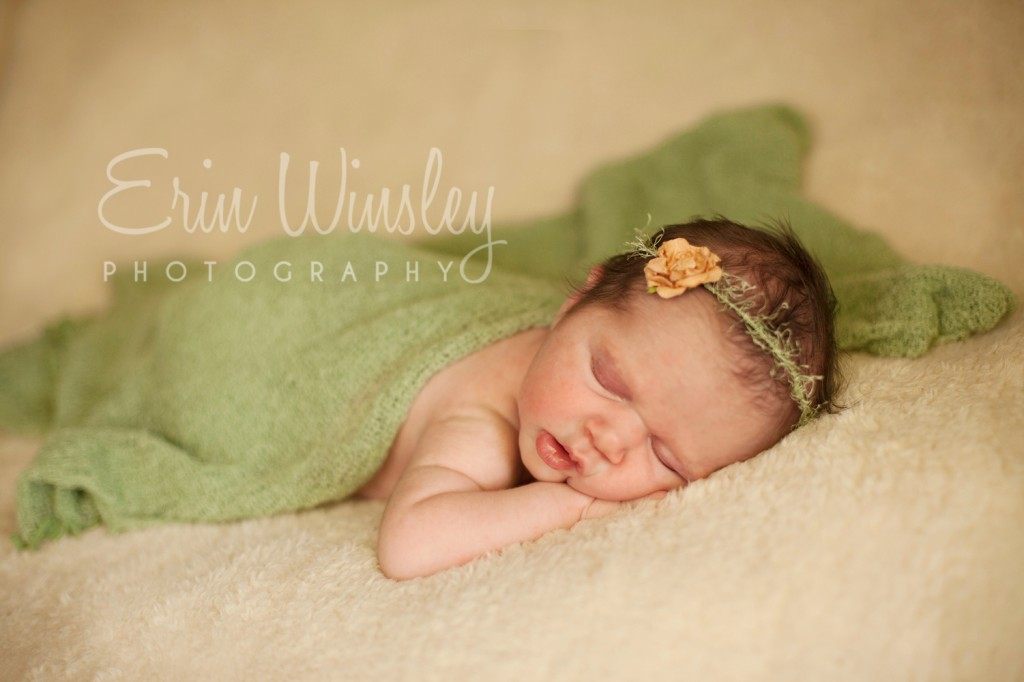 Newborn Baby Photograph girl